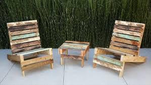 Кресло для дачи из деревянного поддона своими руками (видео)
